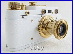 Leica-II(D) Olympiada Berlin 1936 WWII Vintage Russian White RF Camera EXCELLENT