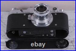 Leica II D. R. P. Camera Lens Leitz Elmar Exclusive Fed Zorki Copy