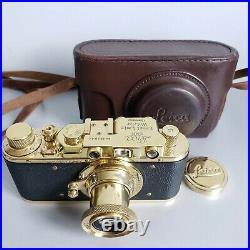 Leica-II (D) camera vintage with Ernst Leitz Elmar 3.5/50