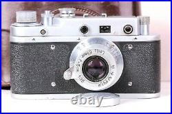 Leica II lens Leitz Elmar Exclusive Camera Berlin Olympiad (Fed Zorki copy)