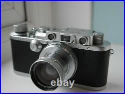 Leica III 50mm F2 Summar lens
