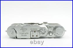 Leica IIIA (model G) Rangefinder Film Camera Body #824