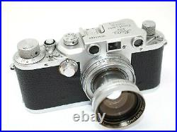 Leica IIIC Luftwaffen Eigentum + 50mm f2 Summitar