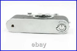 Leica IIIF Rangefinder Film Camera LTM M39 Body Black Dial #752
