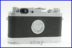 Leica IIIG Rangefinder Camera withLeicavit Winder (Just CLA'd) #582