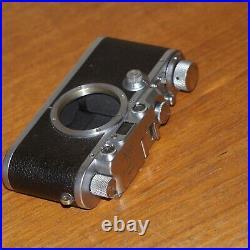 Leica IIIa 35mm film rangefinder camera 267696 CHROME Leitz WETZLAR GERMANY 1937