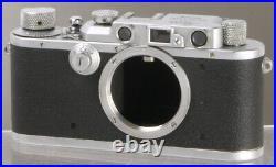 Leica IIIa (Germany, 1936) vintage Leitz rangefinder 35mm film camera