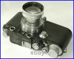 Leica IIIc with Summitar 5cm/2 rare grey version