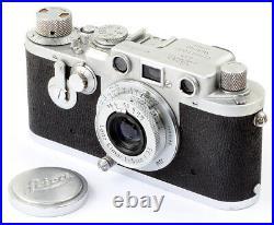 Leica IIIf No. 470670 (sharskin) mit Leitz Elmar f=5cm 13,5 No. 808116 RARE