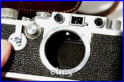 Leica IIIf with self timer, clean