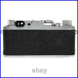 Leica IIIg Film Rangefinder Camera Body (Silver) with Case