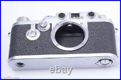 Leica Iiif St Red Dial 35mm 1955 M39 Works 100% Screw Mount Camera Wo/ Lens