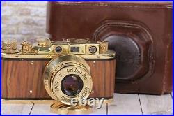 Leica. Kriegsmarine Vintage camera, Lens f2.8/52mm