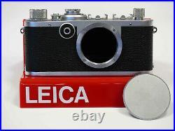 Leica LTM LSM Ic I c #521880 Blitzbuchse von Werk nachgerüstet