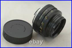 Leica Leicaflex Standard Body #1124332 Summicron lens #2178962 withCase +4 Filters