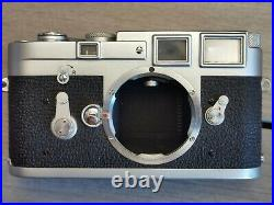 Leica Leitz M3 Serial 998714 Ss Good Condition, Work Perfectly Refck5153