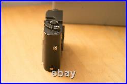 Leica M-A (Typ 127) 35mm Rangefinder Film Camera with Box (Black Chrome)