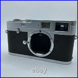Leica M1 Vintage 35mm Camera Body Great Serial Number with Original Case