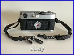 Leica M2 Rangefinder Camera Body with Body Cap and Strap Vintage