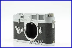 Leica M3 DS Rangefinder Film Camera Body Chrome (engraved) #081