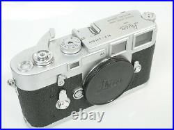 Leica M3 Nr. 911 009 Gehäuse body interessante Nummer working interesting number