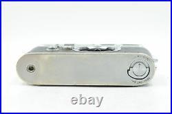 Leica M3 Single Stroke Rangefinder Camera Body withSelf Timer Chrome #719