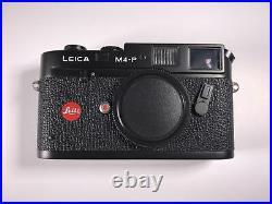 Leica M4-P camera body With Voightlander VC Meter
