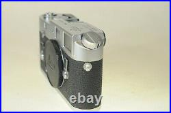 Leica M4 chrome camera body, exc cosmetics, but read