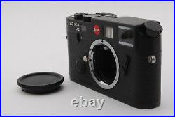 Leica M6 0.85 TTL Black 35mm Rangefinder Camera Free Shipping #698