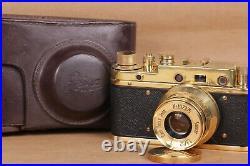 Leica Panzerkampf Camera lens Jena Sonnar 52mm f/2.8 Vintage (Zorki copy)