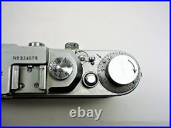 Leica camera Model III a # 324575 Leitz Wetzlar 1939 incl. 1000th NICE