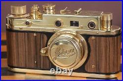 Leica camera rangefinder Lens Elmar f3.5/50mm D. R. P Film Vintage (Fed Copy)