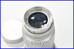 Leica leitz ELMAR 9cm-LENS SERIAL 698370 VG CONDITION REF CK5321