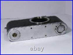 Leica standard #293913 Black Early 35mm RF camera body, Circa 1938, Vintage AS-IS