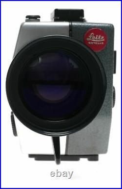 Leicina Super RT with Vario Zoom lens Leica super 8 film camera