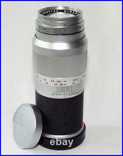 Leitz Elmar 135mm/4 for Leica M, with caps