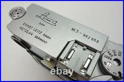 Leitz Leica M3 M 3 962858 camera body Leitz Wetzlar jp002