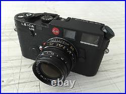 Leitz Leica M6 Dummy Attrape With Dummy Summicron, Rare