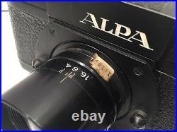 Leitz Leica Post Copy Alpa 11a With Alos 3.5/35, Serial 59752 Refck8590