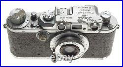 Luftwaffen-Eigentum Fl. No380798 rare Leica IIIb Leitz Elmar f=5cm 13.5 lens