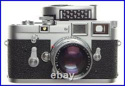 Museum Condition All Original Seal untouched Leica M3 Rigid Summicron 2/50 Case