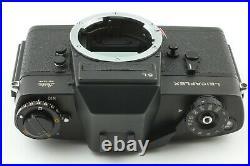 N Mint Leica Leitz Wetzlar Leicaflex SL 35mm SLR Camera Black From Japan 455