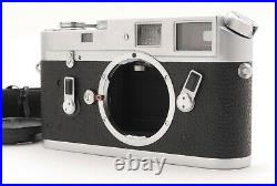 Near MINT LEICA Leitz M4 Silver Rangefinder Film Camera From Japan