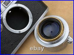 Nicca IIIA Vintage Rangefinder Leica Camera with 5cm f/1.4 Nikkor S. C. Very Clean