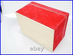 Original Leica M3 Box Karton frühe rote Ausf early red version schön nice ANKAUF