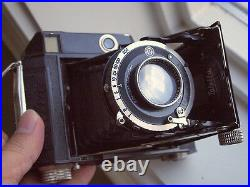 Rare vintage Welta RF 645 camera+Schneider 75mm F2.8 lens from Leica M collector