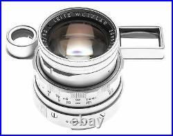 STUNNING LEICA BOXED SS M3 RANGEFINDER 35mm FILM CAMERA DR SUMMICRON 2/50mm CASE