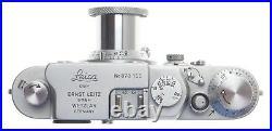 STUNNING LEICA IIIg 3G CAMERA LEITZ CHROME PRIME ELMAR 13.5/5cm LENS CASE f=50