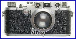 SUMMAR 12 f=5cm VINTAGE LENS IIIC LEICA 35mm FILM CAMERA RANGEFINDER TYPE USED
