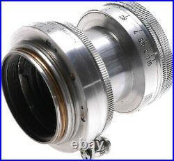 Summitar f=5cm 12 Leica camera lens 2/50 coated vintage optics filters set LTM